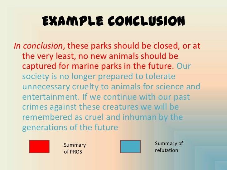 Conclusion paragraph for argumentative essay