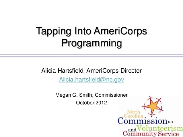 Tapping Into AmeriCorps Programming