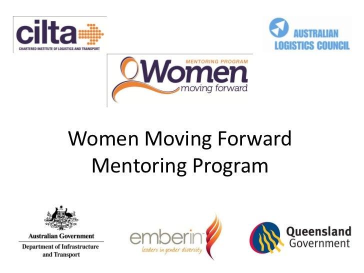 Megan Hobson Presentation On Cilt As Women Moving Forward Mentoring Program
