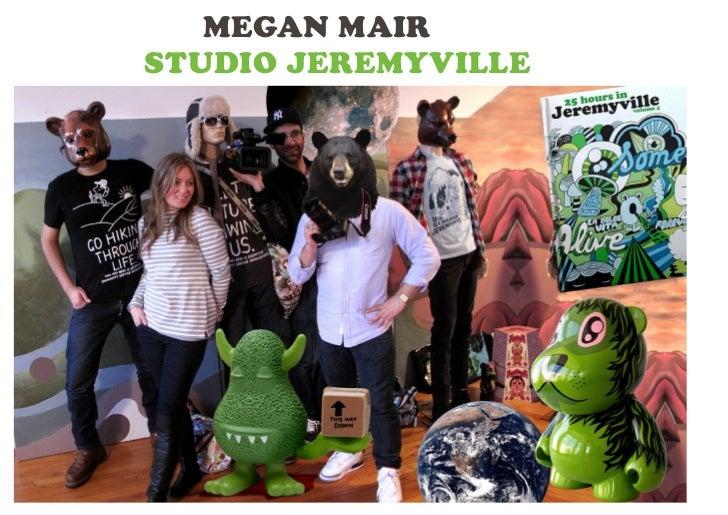 Megan Mair: 5 Creatives // 5 Stories