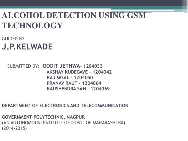 alcohol detection system using gsm technology. Black Bedroom Furniture Sets. Home Design Ideas