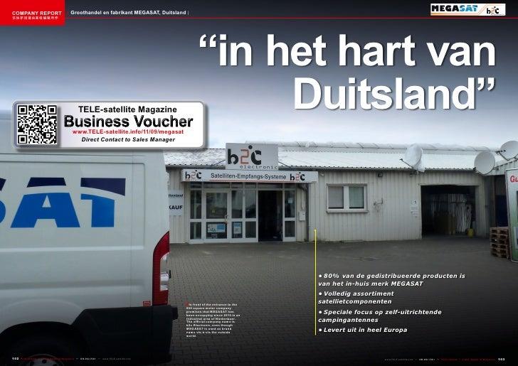 COMPANY REPORT                           Groothandel en fabrikant MEGASAT, Duitsland该独家报道由高级编辑所作                          ...