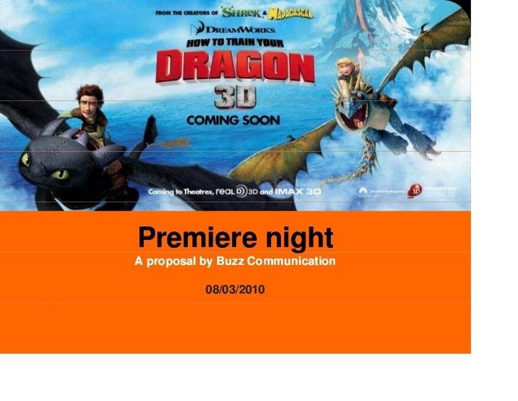 Megastar - premier night proposal for film launching