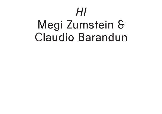 HI Megi Zumstein & Claudio Barandun