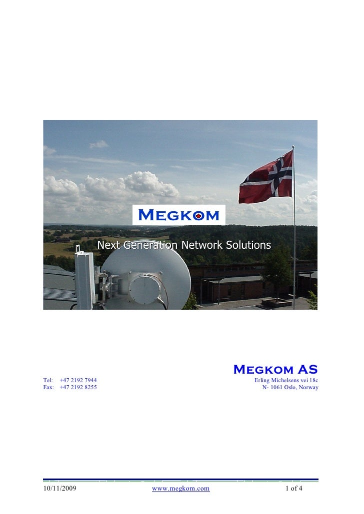 Megkom                                Megkom                      Next Generation Network Solutions                       ...