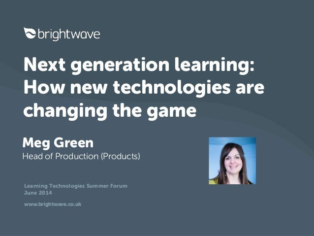 Next generation learning: How new tech are changing the game