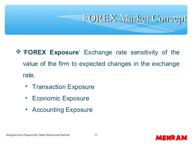 Net exposure forex