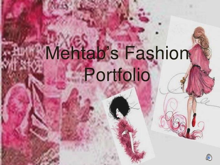 My Fashion Portfolio
