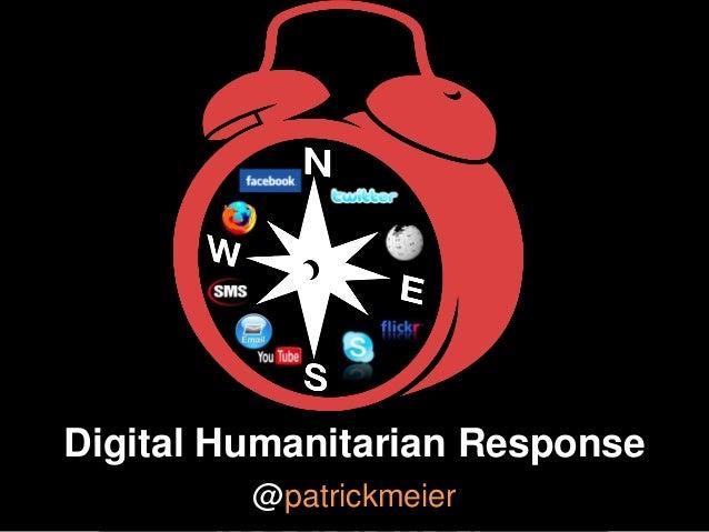 Monitoring Humanitarian Crises in the Digital Age