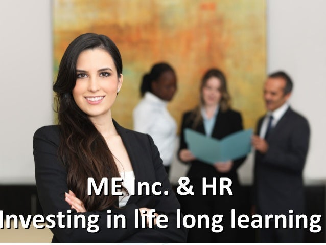 Leading your life like you would be leading a company possibly with the help of HR - this is the third dimension of HR