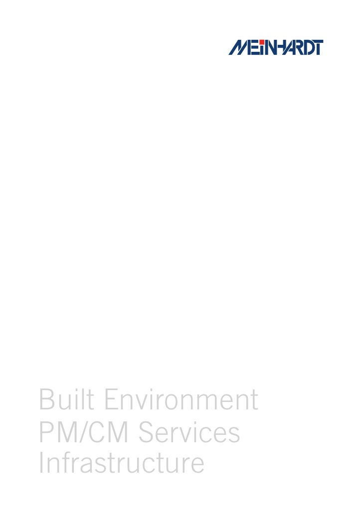Meinhardt Capability Brochure 2010