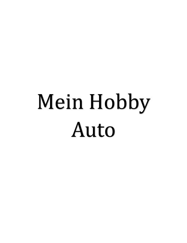 Mein Hobby Auto