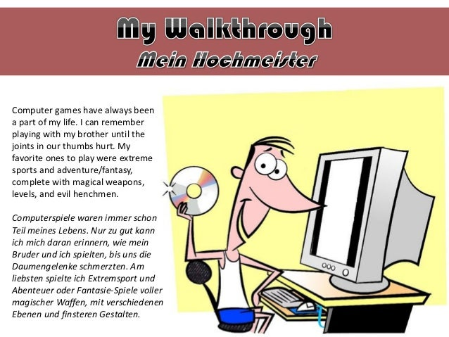 Computer games have always been a part of my life. I can remember playing with my brother until the joints in our thumbs h...