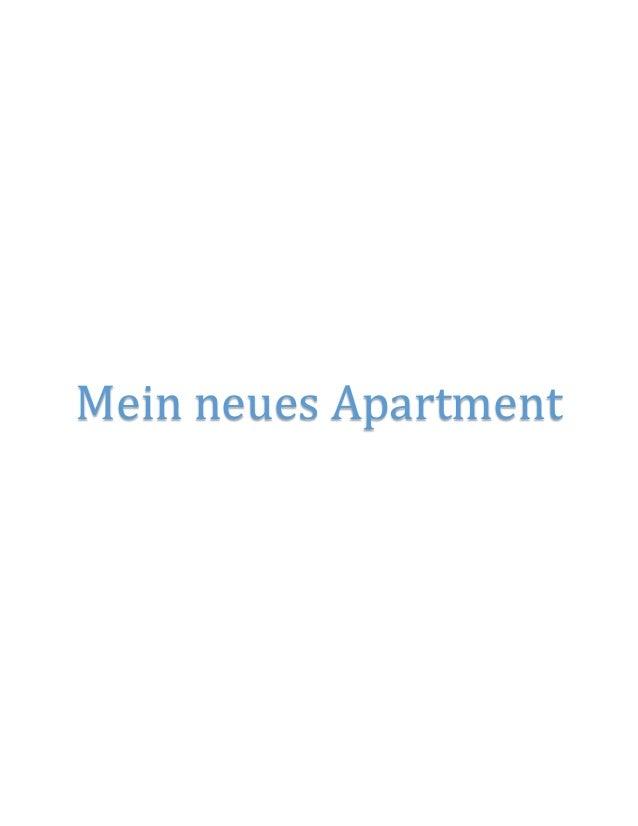 Mein neues Apartment