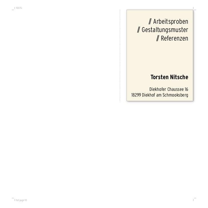 Torsten Nitsche - Portfolio Layouts