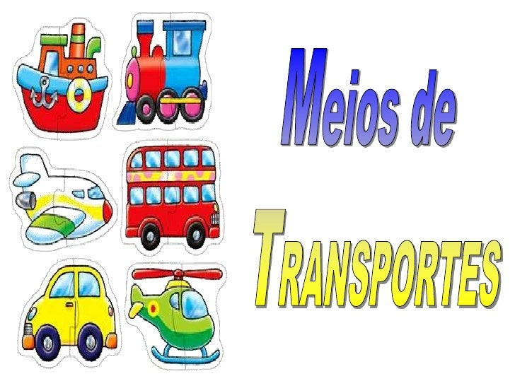 Meios de <br />TRANSPORTES<br />