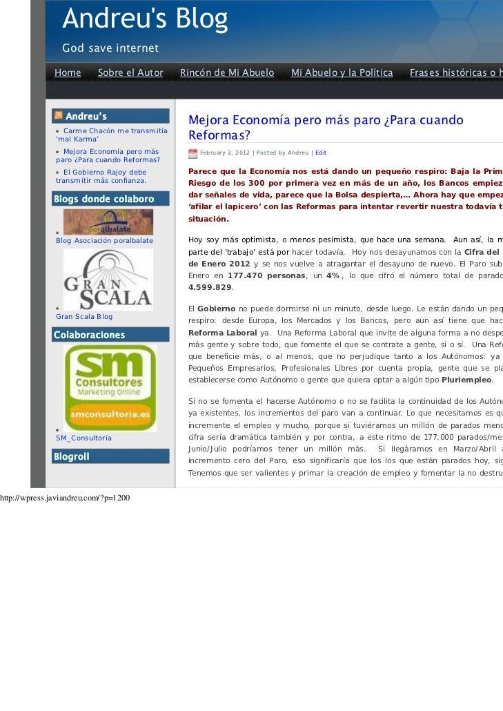 God save internet               Home        Sobre el Autor     Rincón de Mi Abuelo               Mi Abuelo y la Política  ...