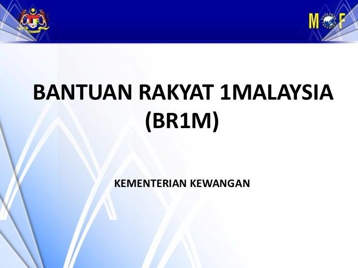 Bantuan Rakyat 1 Malaysia (BR1M) RM500