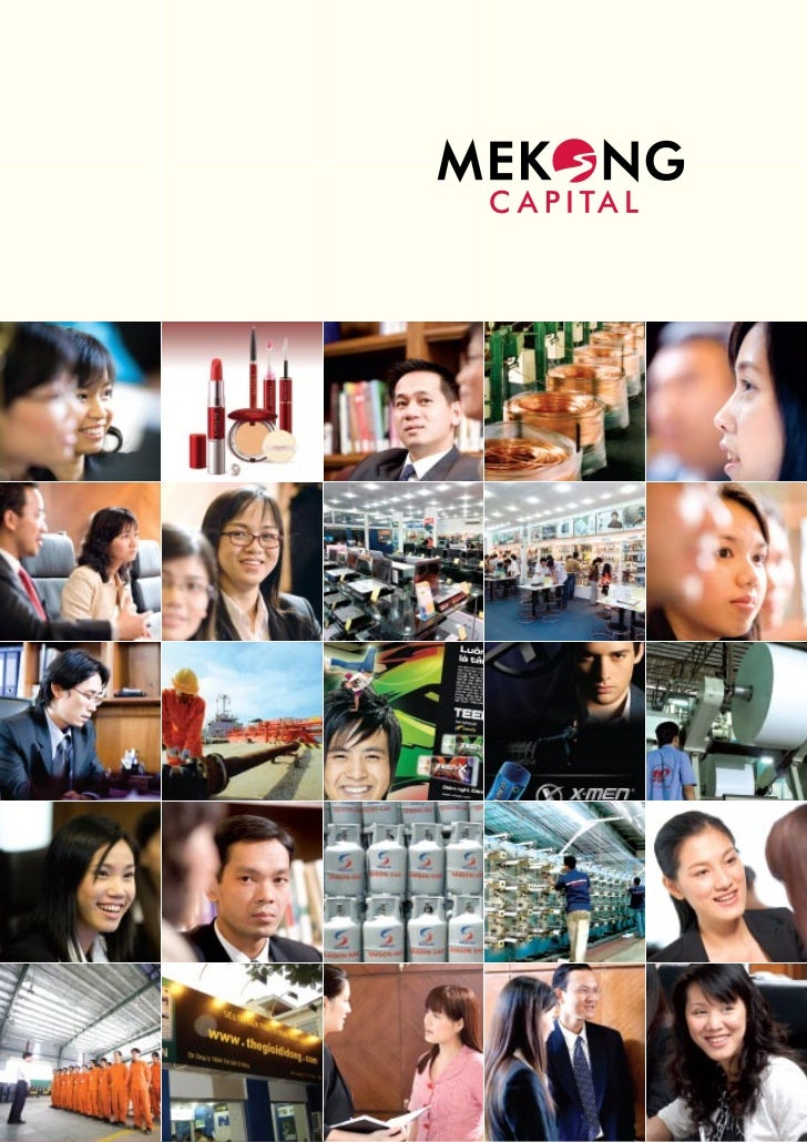 Thiet ke Brochure - Mekong Capital 2007