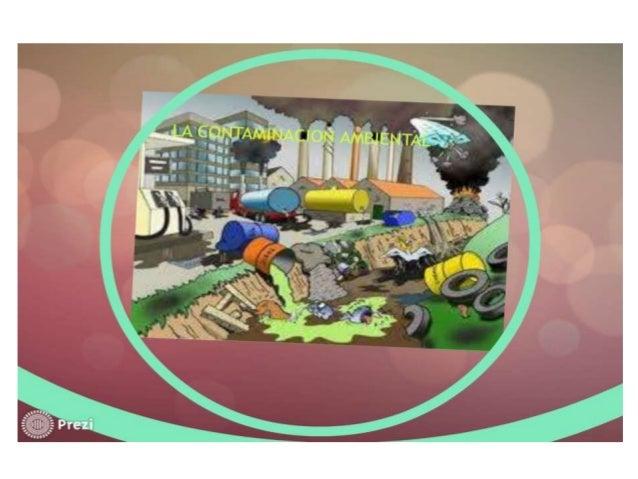 La Contaminación Ambiental  El aumento continuo de la población.  su concentración progresiva en grandes centros urbanos y...