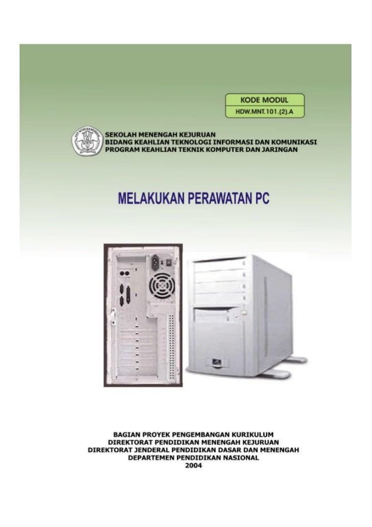 Perawatan Personal Computer ( PC )