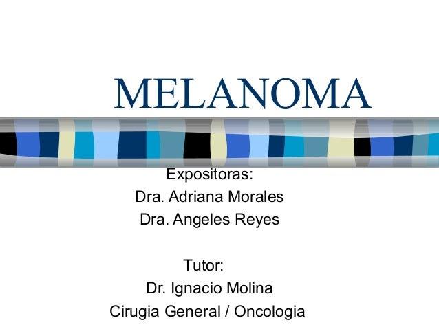 Melanoma 2012