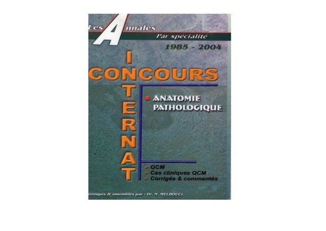 Melbouci anatomie pathologique 1985 2004