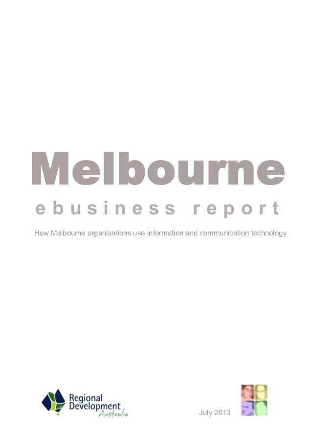 Melbourne ICT Scorecard