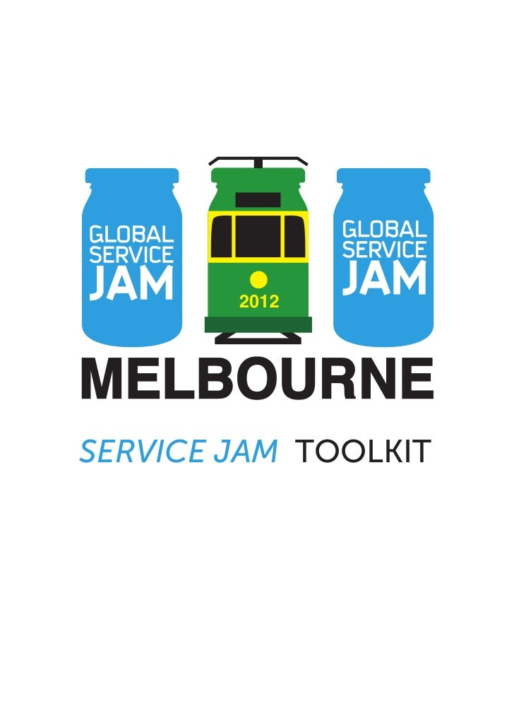 Melbourne Service Jam Toolkit