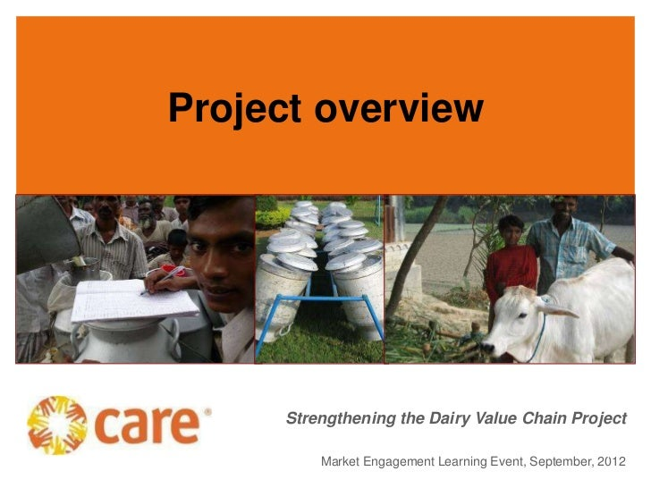Project overview     Strengthening the Dairy Value Chain Project                                                       1  ...