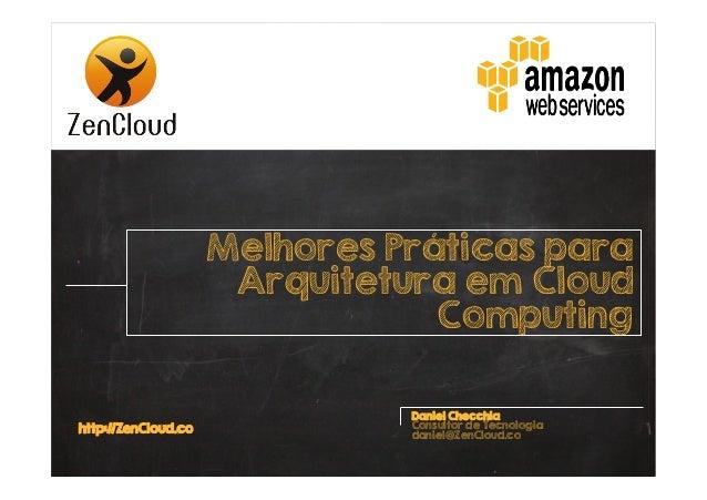Melhores práticas para Arquitetura em Cloud Computing