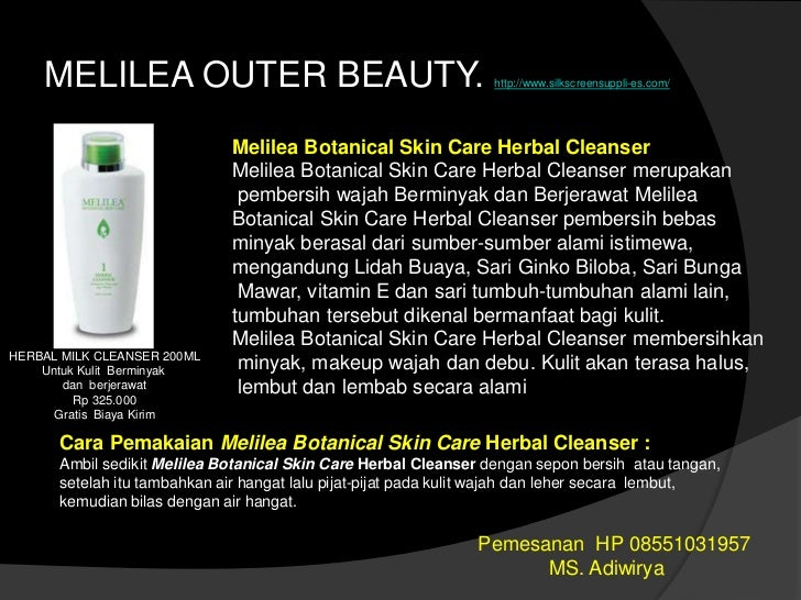 Melilea Inner and Outer Beauty