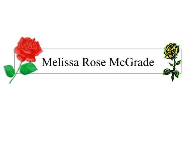 Melissa Mc Grade