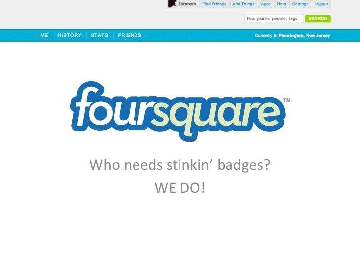 Foursquare by M. Elizabeth Williams