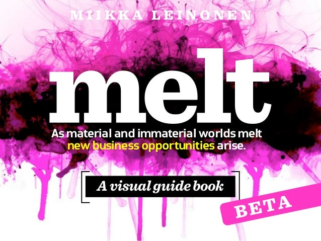 MIIKKA LEINONENAs material and immaterial worlds melt   new business opportunities arise.        A visual guide book      ...