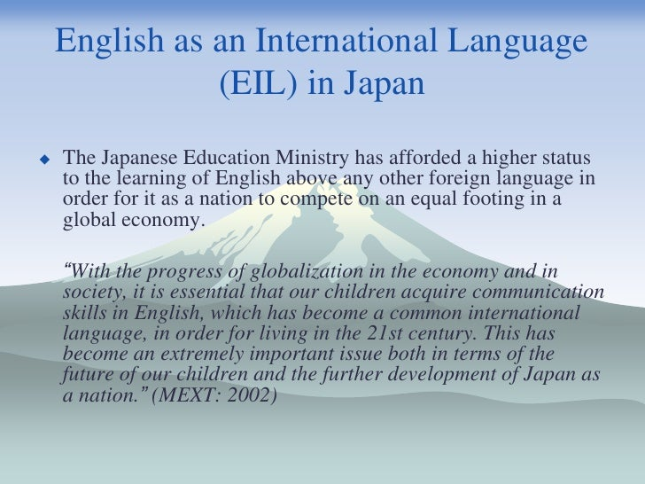 english language in international communication What do you think is the role of english in international or worldwide communication i have to do a speech about it but i don't know how to start, what is your opinion or idea of this please any idea is well-received.