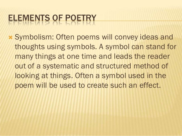 symbolism in the poem i too Symbolism poems examples of all types of symbolism poems share, read, and learn how to write poetry about symbolism the rose this is not a poem about a rose nor a poem about diligence and beauty today.