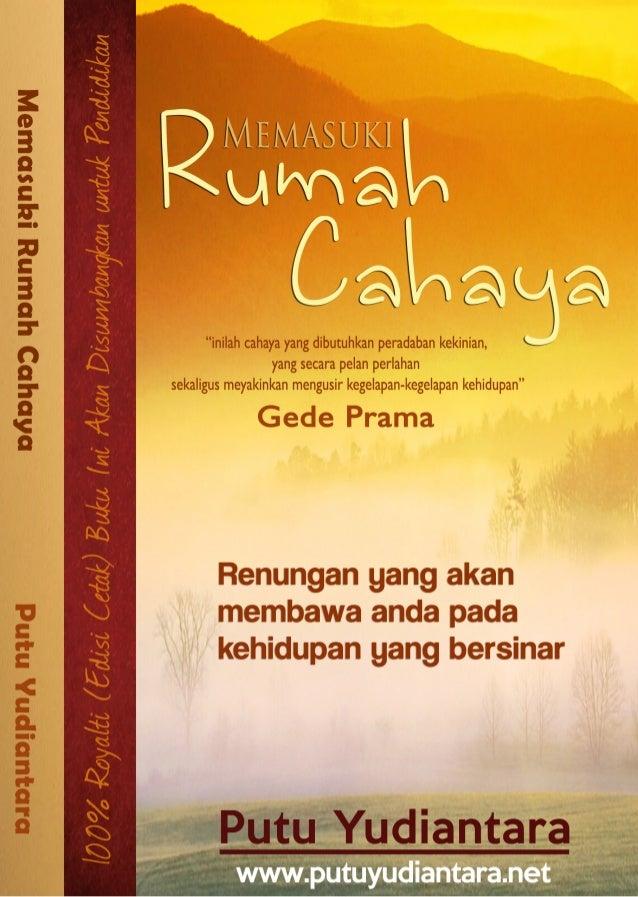 Memasuki rumah cahaya by putu yudiantara (ebook gratis)