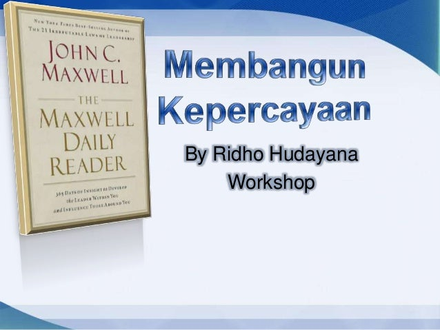 By Ridho Hudayana    Workshop