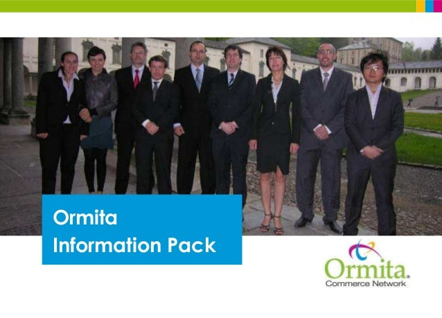Ormita Information Pack