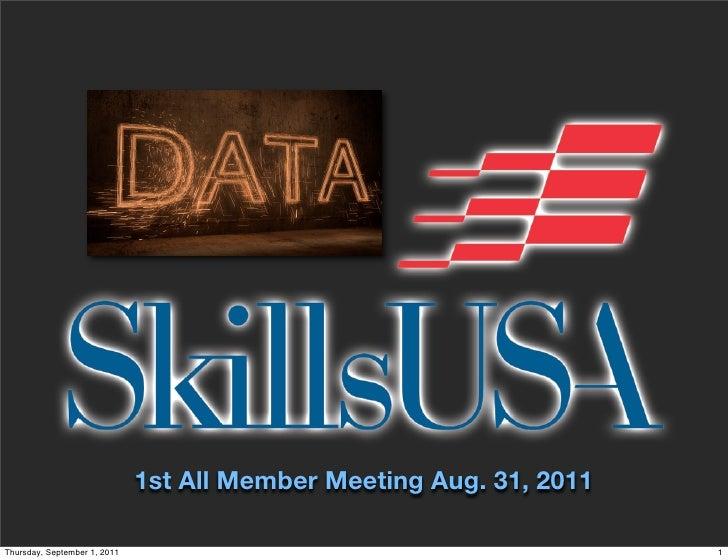 Member Meeting 2011
