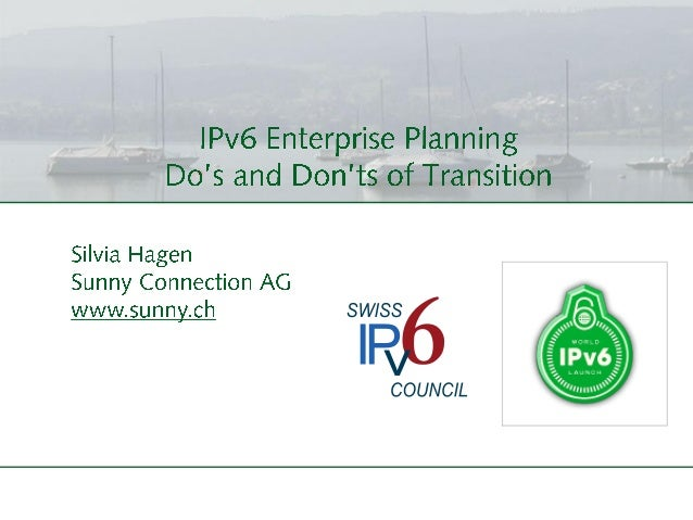 Dos And Donts Of IPv6 Transition