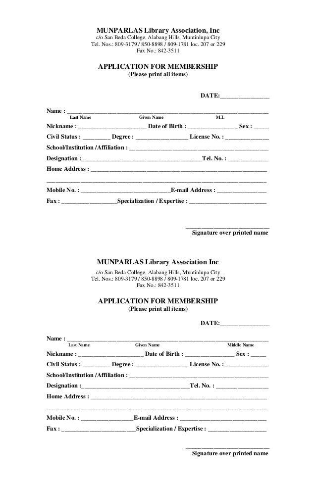 MUNPARLAS Library Association, Incc/o San Beda College, Alabang Hills, Muntinlupa CityTel. Nos.: 809-3179 / 850-8898 / 809...