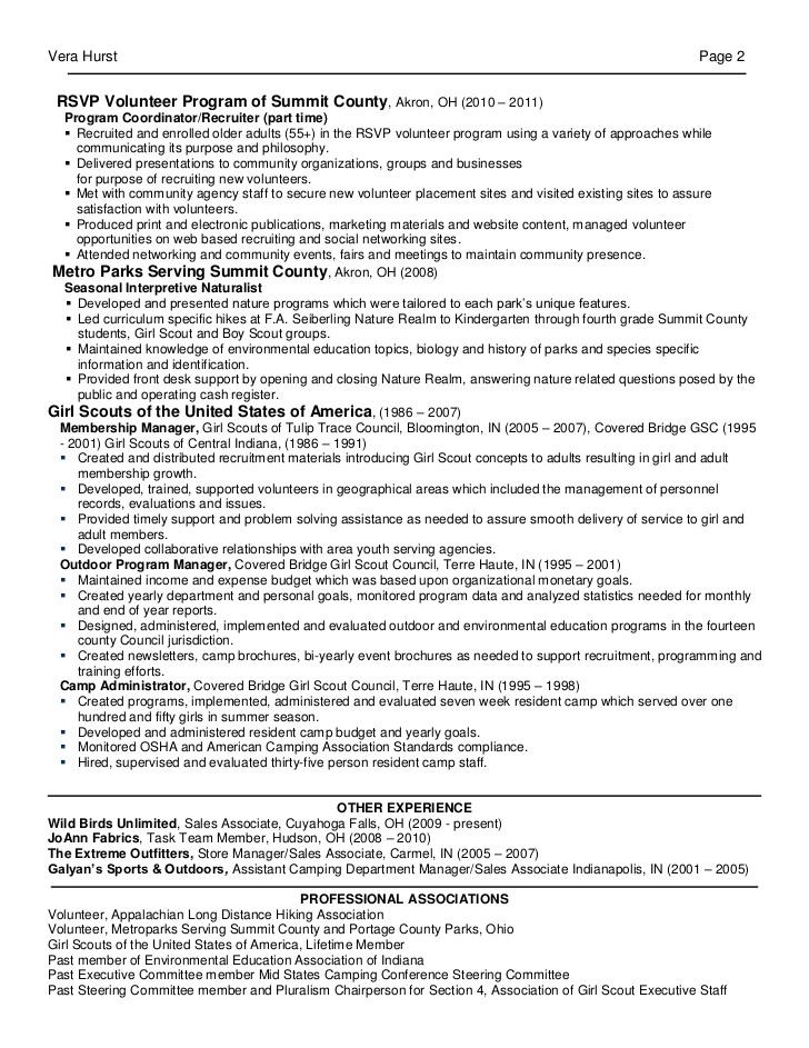 membership marketing resume linked in