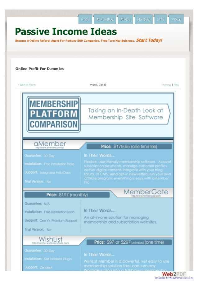 Membership Site Platform | Which Company Is Best To Use For Membership Platform