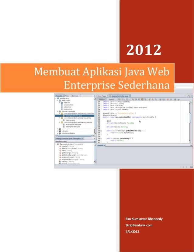 Membuat aplikasi-java-web-enterprise-sederhana