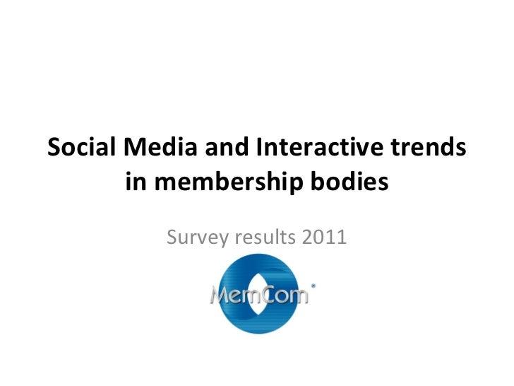 Mem com interactive survey results 2011 iop share
