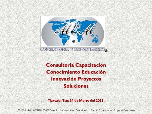 MEM CONSULTORIA Y CAPACITACION