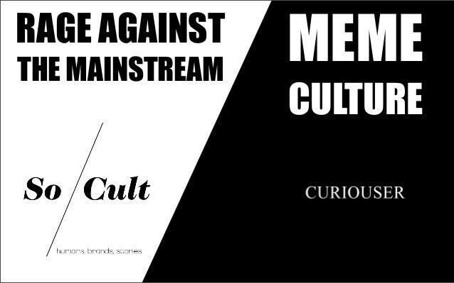 Mème Culture : analyse du phénomène mèmes