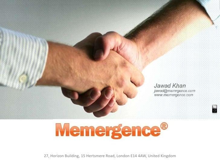 Memergence Presentation